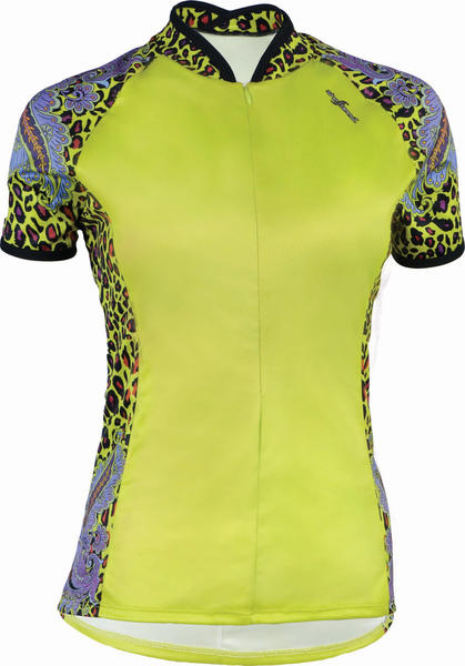 Shebeest Bellissima Paisley Panthera Jersey - Women's Color: Appletini