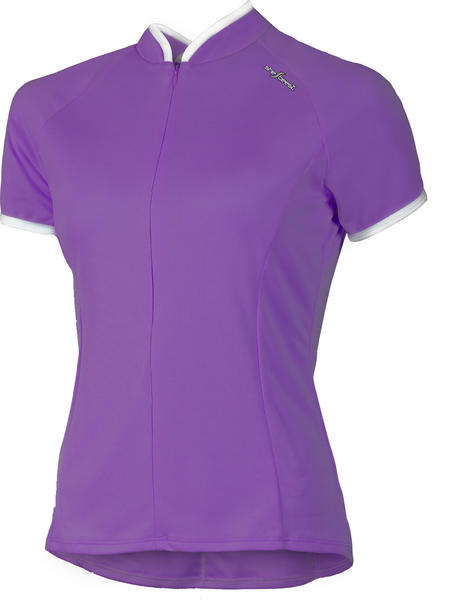 Shebeest Bellissima Solid Plus Jersey - Women's Color: Amethyst