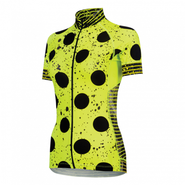 Shebeest Divine Spray Dots Jersey Color: Spry