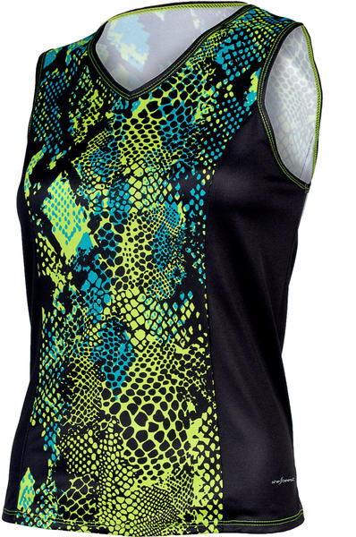 Shebeest Easy V Python Sleeveless Jersey - Women's