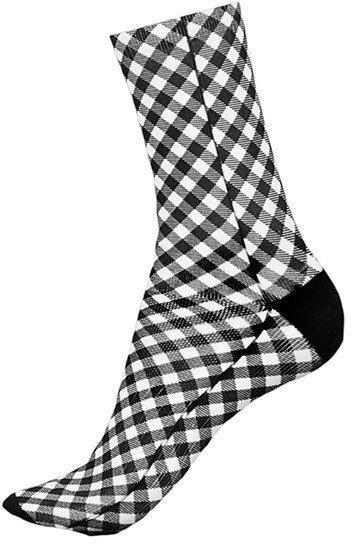 Shebeest Gingham Short Socks
