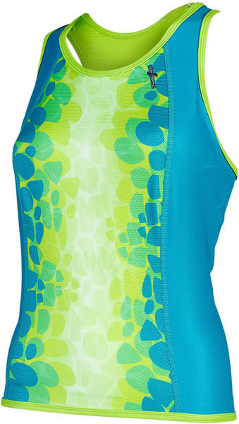 Shebeest Kona Lava Tri Top - Women's Color: Aquamarine