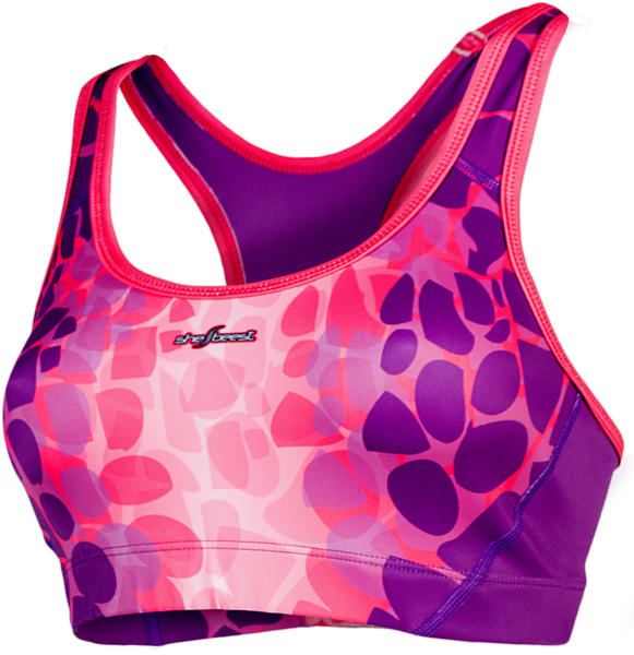 Shebeest Lava Tri Bra - Women's Color: Boysenberry