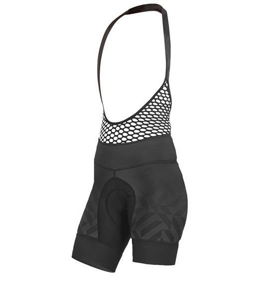 Shebeest Petunia Kleo Fade Bib Short Color: Black