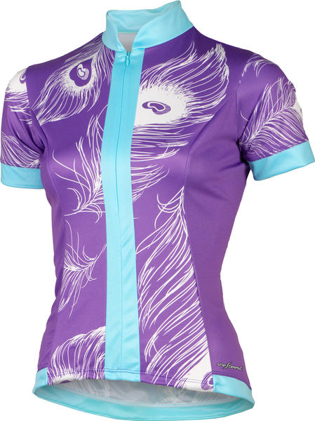 Shebeest S-Cut Peacock Jersey - Women's Color: Amethyst