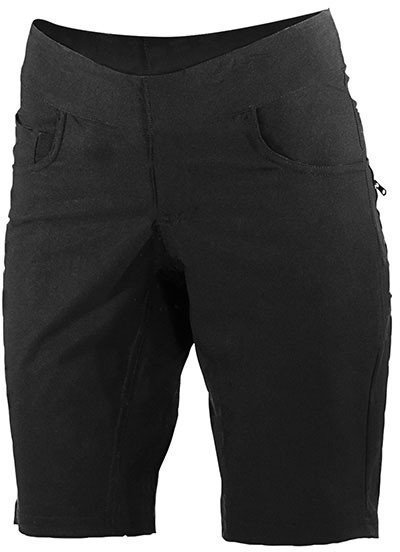 Shebeest Solid Skinny Americano Short Color: Black