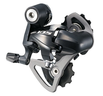 Shimano 105 Rear Derailleur (Short Cage) Color: Black