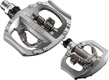 Shimano PD-A530 Pedals Color: Silver
