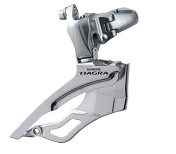 Shimano Tiagra Braze-On Front Derailleur (Triple Chainring)