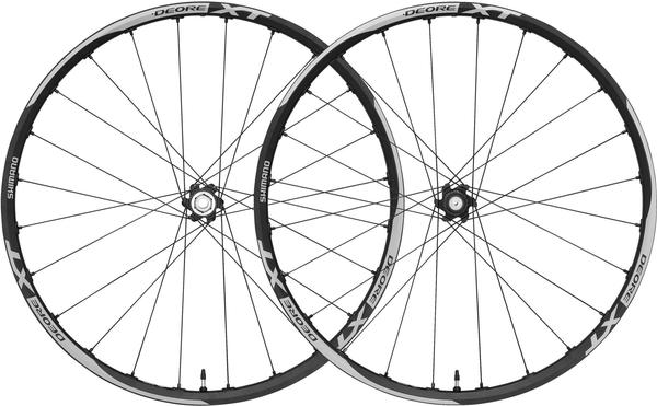 Shimano Deore XT Enduro Disc Tubeless Wheelset (15mm through-axle front, QR rear)