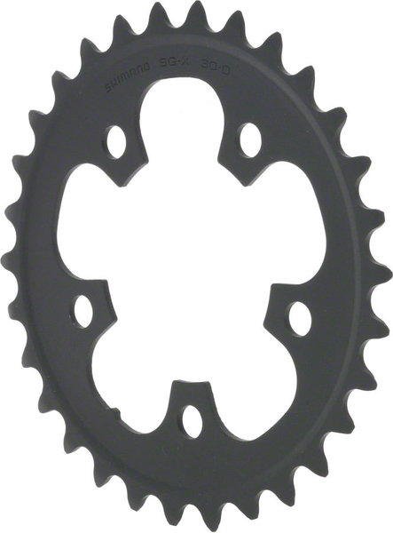 Shimano 105 5703 Triple Chainring BCD | Color | Size | Speeds: 74mm | Black | 30T | 10