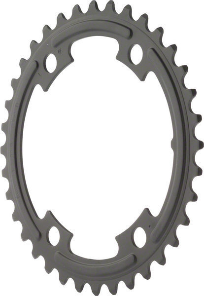 Shimano 105 5800 Chainring BCD | Color | Size: 110mm | Black | 36T