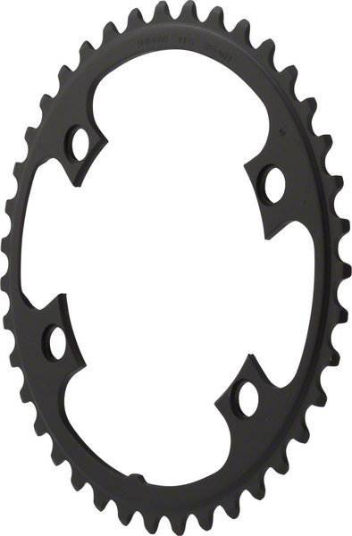 Shimano 105 5800 Chainring BCD | Color | Size: 110mm | Black | 39T