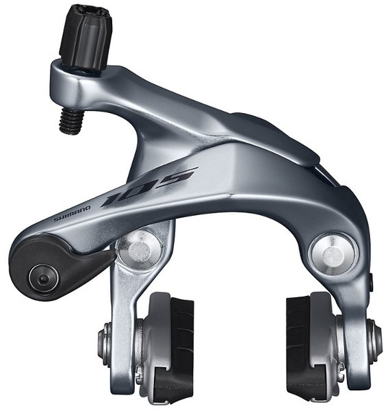 Shimano 105 BR-R7000 Dual-Pivot Brake Caliper Set Color: Black