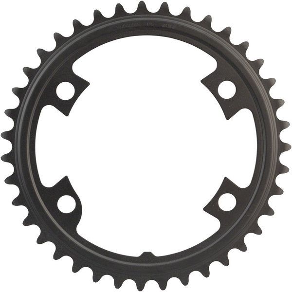 Shimano 105 R7000 Chainring BCD | Color | Size | Speeds: 110mm Shimano Asymmetric | Black | 39T | 11