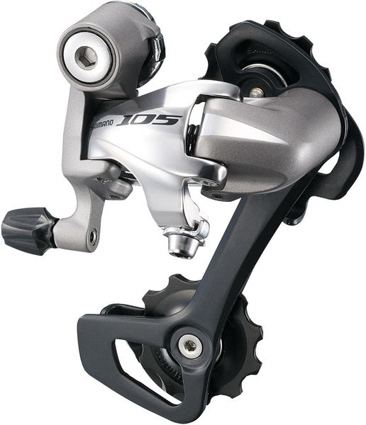 Shimano 105 Rear Derailleur (Long Cage) Color: Silver