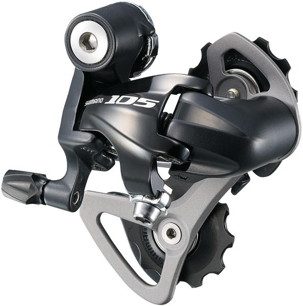 Shimano 105 Rear Derailleur (Short Cage) Color: Lodestar Black