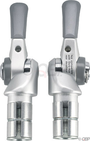 Shimano 8-Speed Bar-End Shifters Model: 3x8-speed