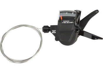 Shimano Acera M3000 9-Speed Rapidfire Shifters Color | Model | Speeds: Silver | Left | 3-Speed