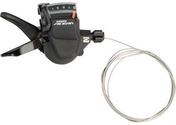 Shimano Acera M3000 9-Speed Rapidfire Shifter Color | Left/Right | Speeds: Silver | Right | 9-Speed