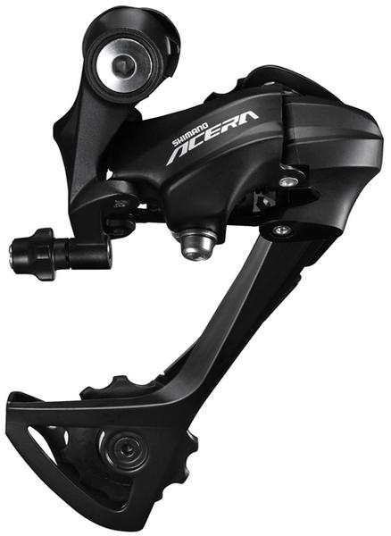 Shimano Acera RD-T3000 Rear Derailleur Color: Black