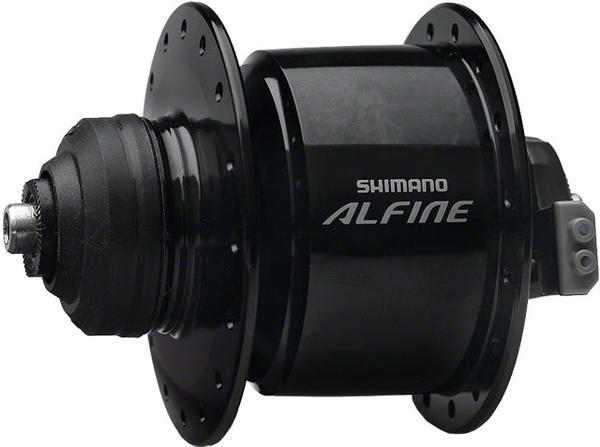 Shimano Alfine Centerlock Dynamo Hub Color: Black