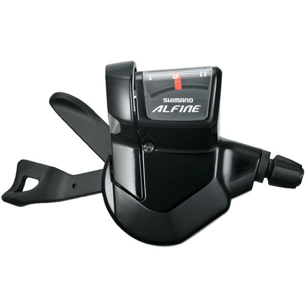 Shimano Alfine Flat-Bar 11-Speed Rapidfire Plus Shifter Color: Black