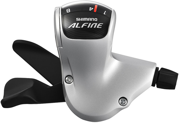 Shimano Alfine S503 Rapidfire Shifter Color: Silver