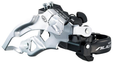 Shimano Alivio Front Derailleur Model: Top swing