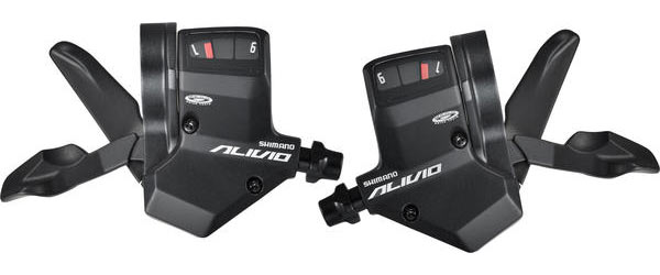 Shimano Alivio RapidFire Plus Shift Levers