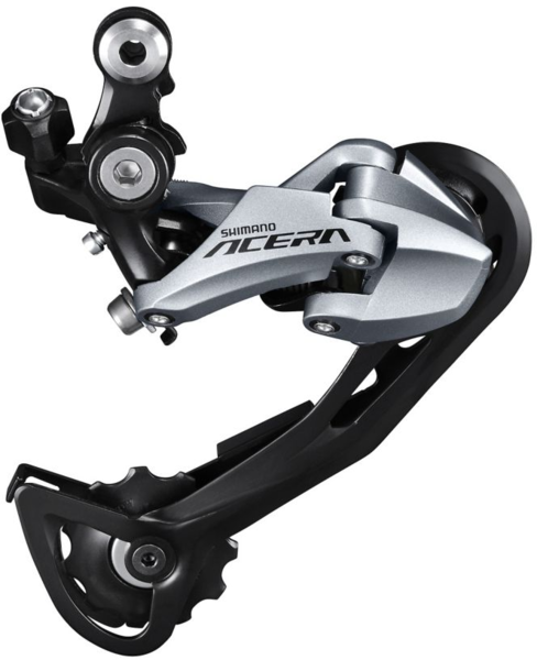 Shimano Altus RD-M2000 Shadow Rear Derailleur Color: Silver