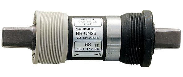 Shimano UN26 68 x 127.5mm Square Taper English Bottom Bracket