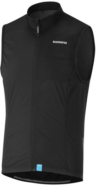 Shimano Compact Wind Vest Color: Black