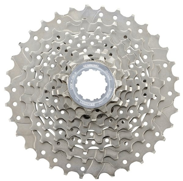 Shimano CS-HG50 8-Speed Cassette Color: Silver