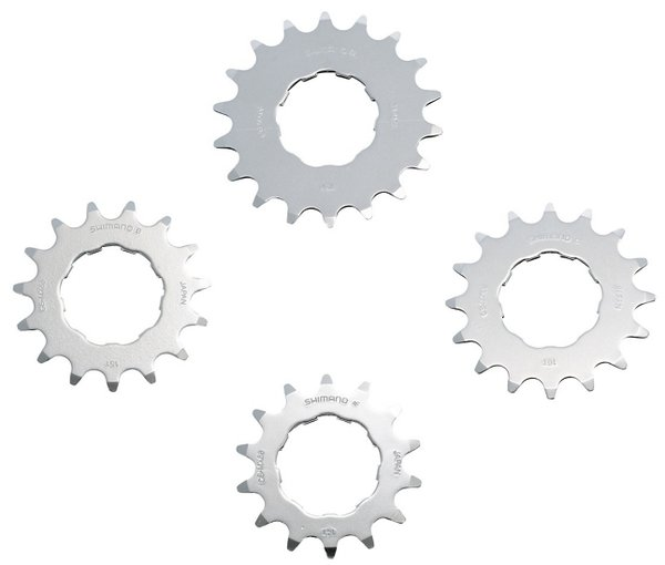 Shimano CS-MX66 DXR - Single BMX Sprocket Image differs from actual product (cogs sold individually)