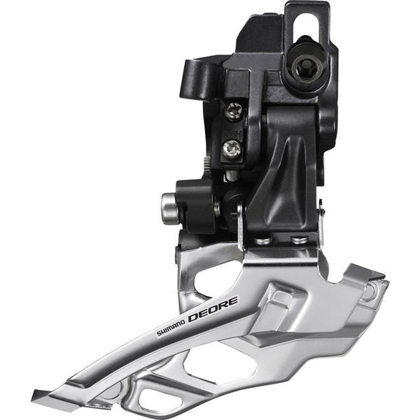 Shimano Deore 10-Speed Dual-Pull Double Front Derailleur (Down Swing, Direct Mount)