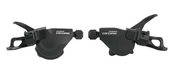Shimano Deore 10-Speed Rapidfire Shifter Set (I-Spec)