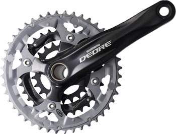 Shimano Deore Crankset Color: Black