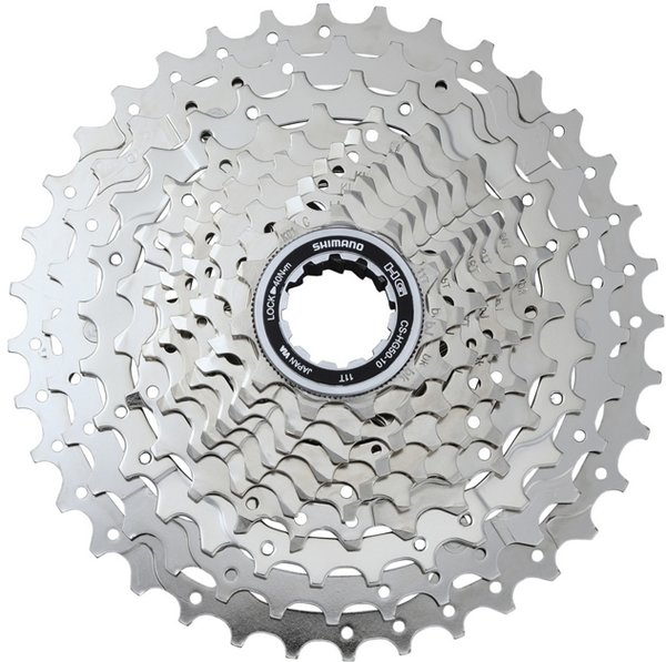 Shimano Deore CS-HG50 10-Speed Cassette Color: Silver
