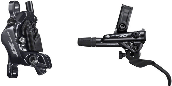 Shimano Deore XT BL-M8100/BR-M8120 Disc Brake and Lever Left/Right: Left