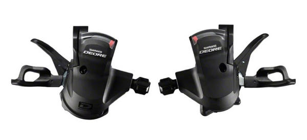 Shimano Deore 10-Speed Rapidfire Shifter Set