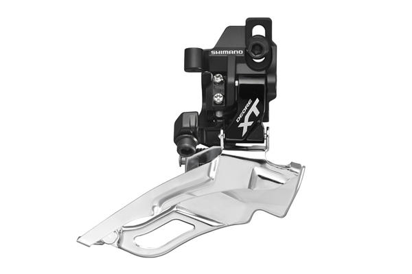 Shimano Deore XT Triple Top Pull Front Derailleur (Down Swing, Direct Mount) Color: Black