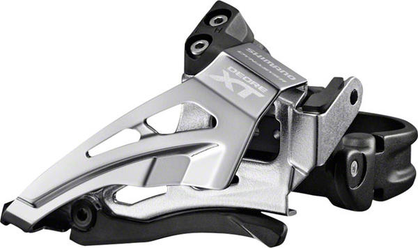Shimano Deore XT Front Derailleur (Low Clamp) Model: Down Swing/Top Pull (Double)