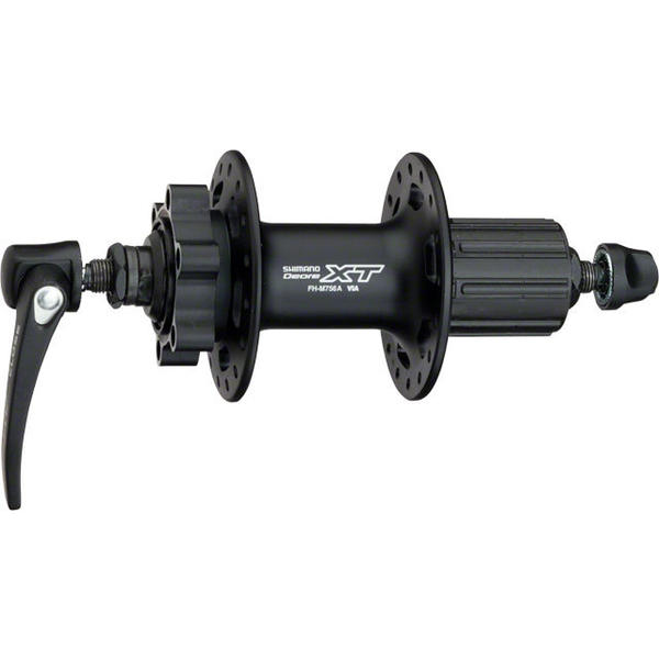 Shimano Deore XT M756A 10-Speed 6-Bolt Disc Rear Hub Color | Hole Count: Black | 32h