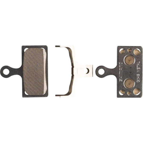Shimano Deore XT M8000 Metal Disc Brake Pad (G04S) and Spring