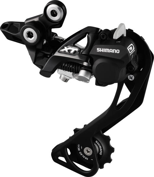 Shimano Deore XT Shadow + Rear Derailleur (Long Cage) Color: Black