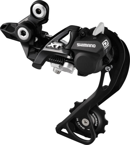 Shimano Deore XT Shadow + Rear Derailleur (Mid Cage) Color: Black