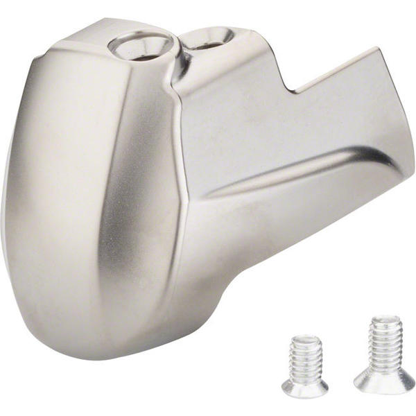Shimano Dura-Ace 9001 STI Lever Name Plate and Fixing Screws Color | Model: Silver | Left