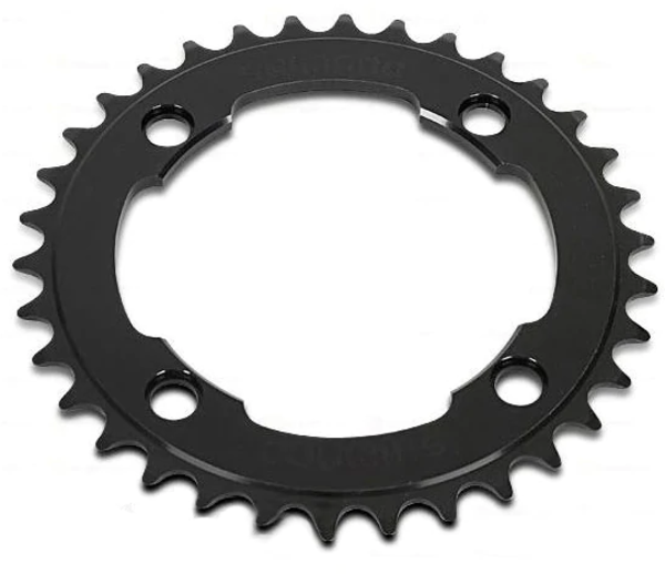 Shimano DXR SM-CR80-A Chainring Color: Black