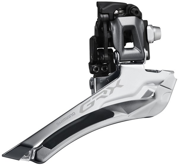 Shimano GRX RX810 11-Speed Front Derailleur Clamp Diameter: Braze-On